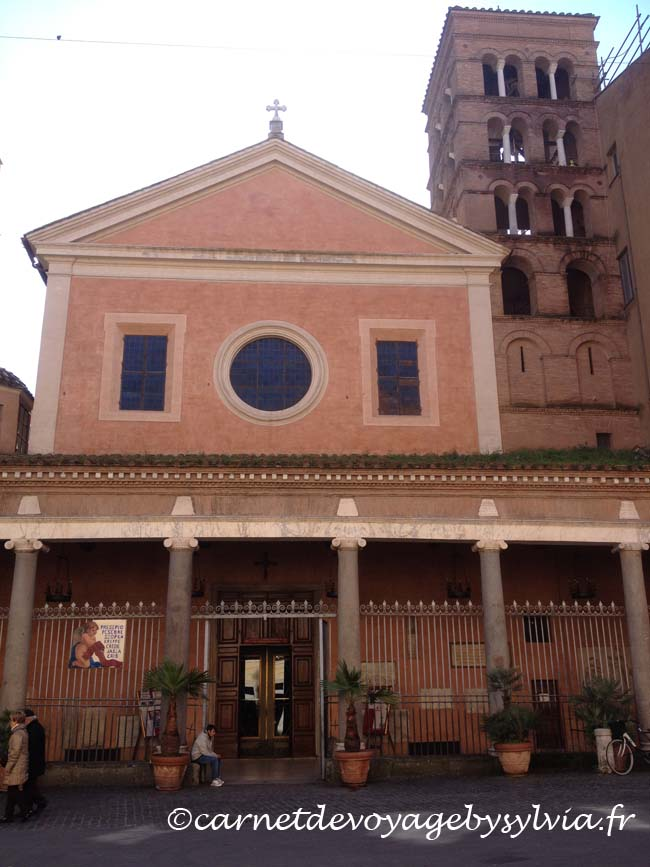 Église où se trouve le tombeau de Nicolas Poussin.