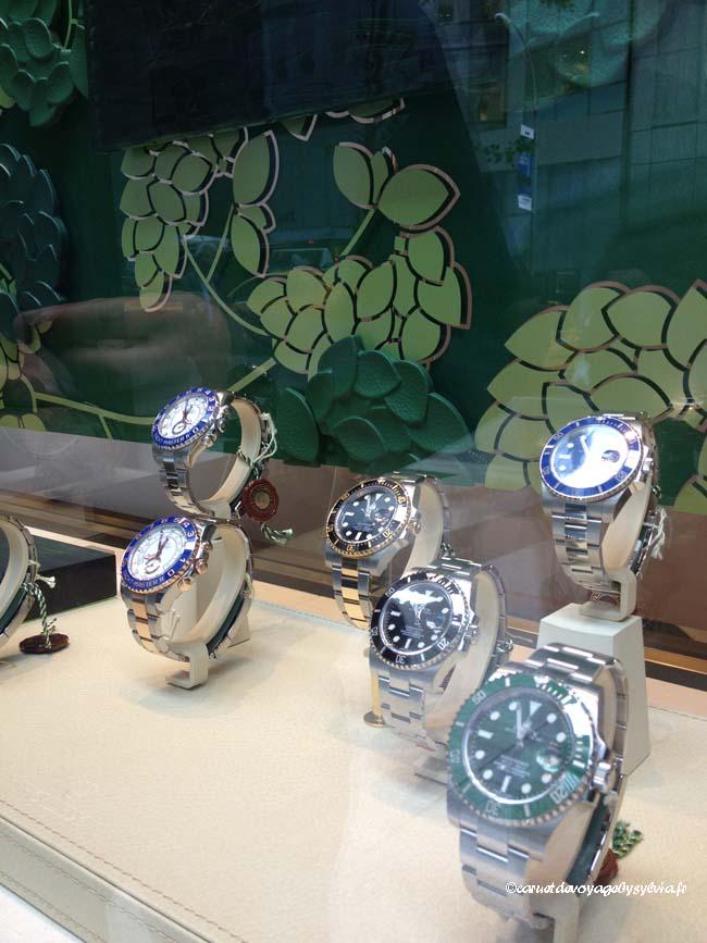 quelques belles montres