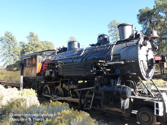 Grand Canyon - chemin de fer