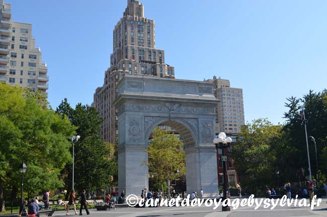 Washington square Park – Greenwich village – New York