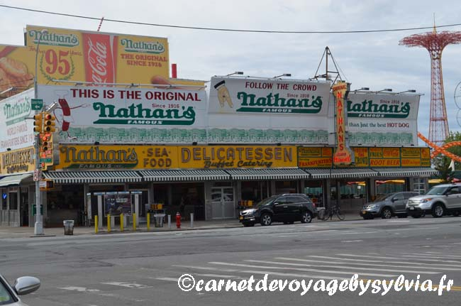 Coney Island Brooklyn - Nathans