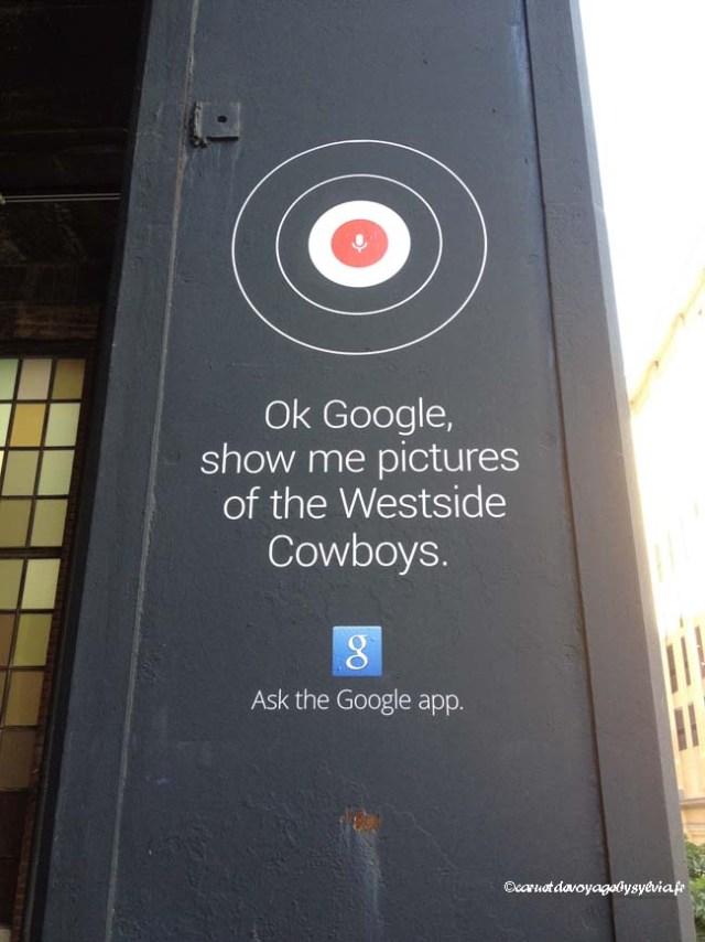 se promener sur la High Line : google