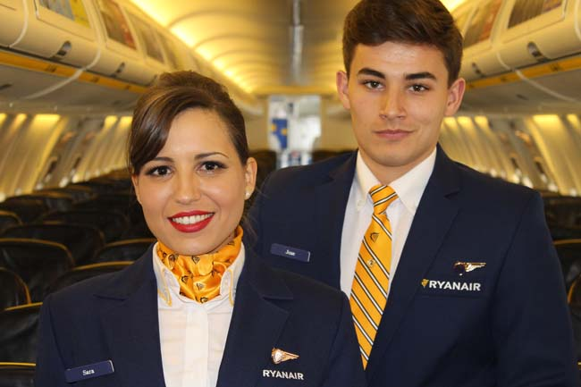 © Ryanair- personnel