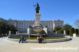 Visiter le Palacio Real de Madrid : mon avis