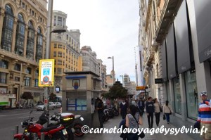 Bons plans Calle Gran Via à Madrid