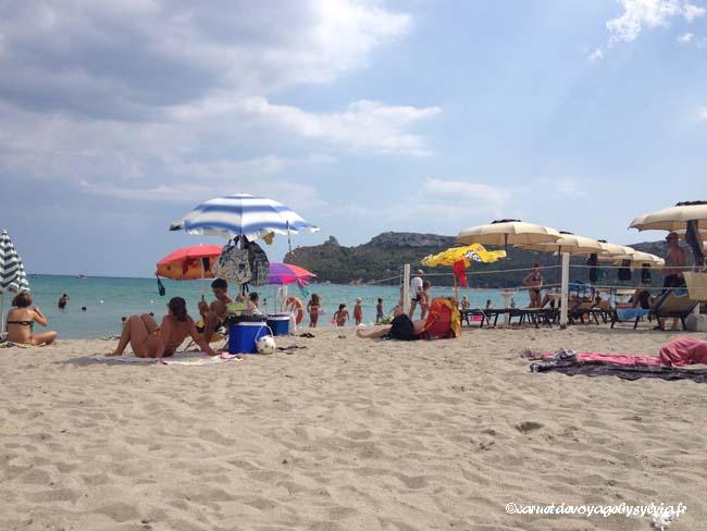 plage du poetto Cagliari