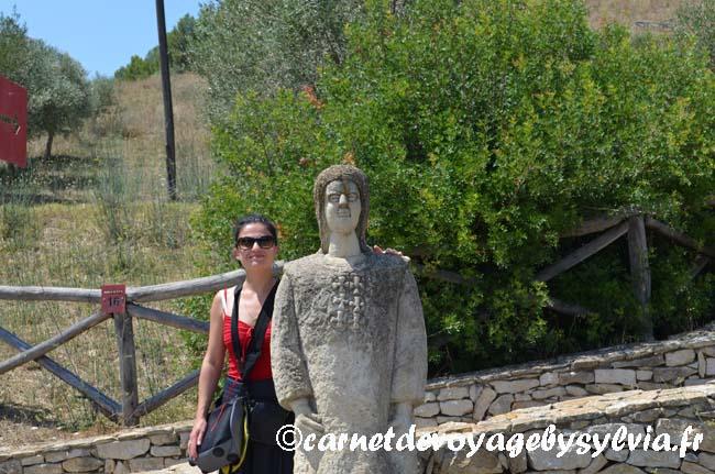 Au pied du castello di Marmilla