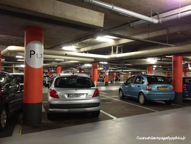 stationnement du véhicule