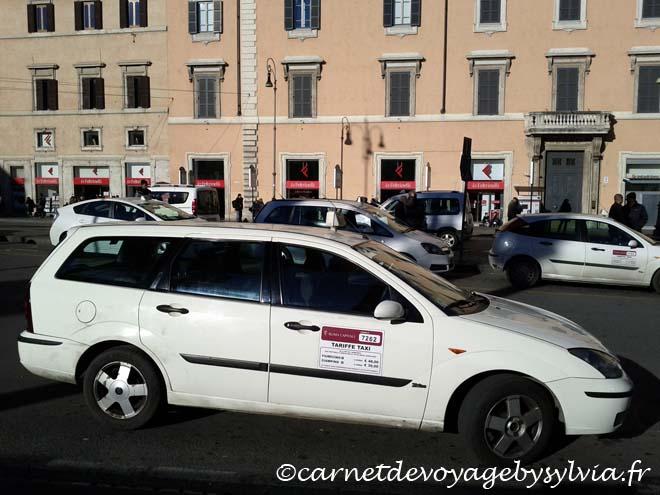Stationnement à Rome
