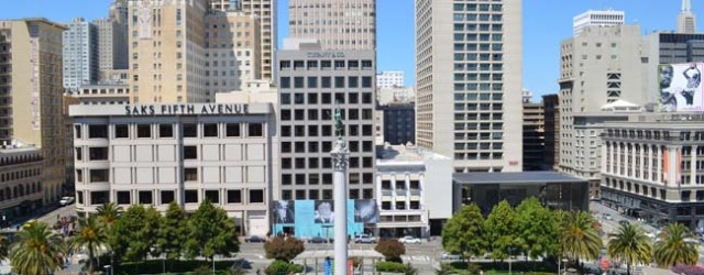 Unions Square San Francisco - vue depuis le roof top