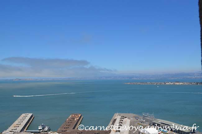 San Francisco sur le chemin de la Coït Tower