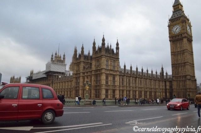 week-end à Londres en janvier