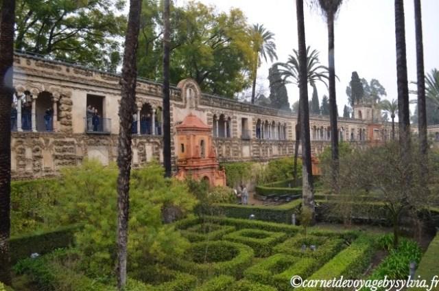 jardins du réal Alcazar