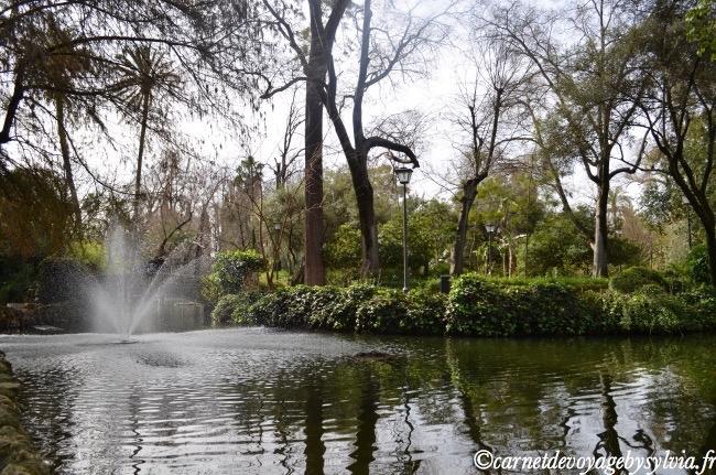 parque Maria Luisa Séville