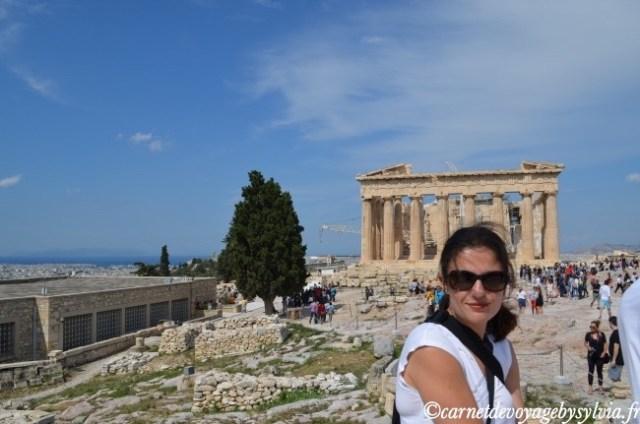 Visite de l'acropole