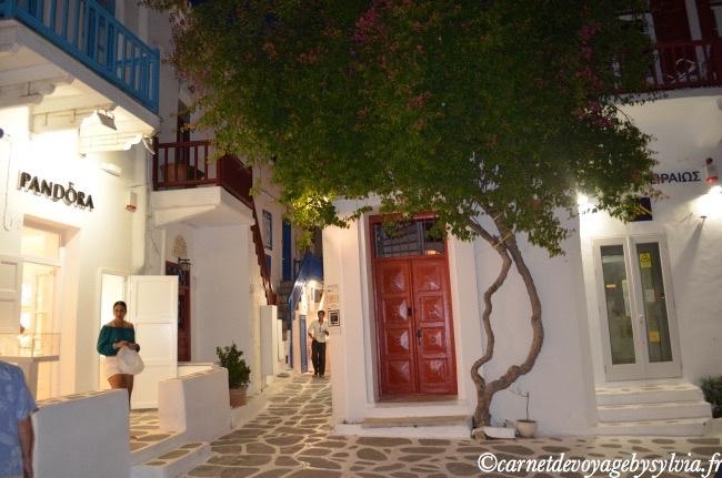 Les maisons de Mykonos