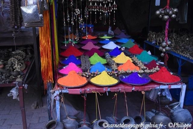 Odeurs et couleurs de l'Inde.