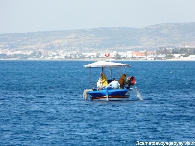 Bateau de pêche tunisien