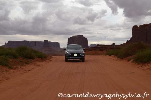 piste en voiture