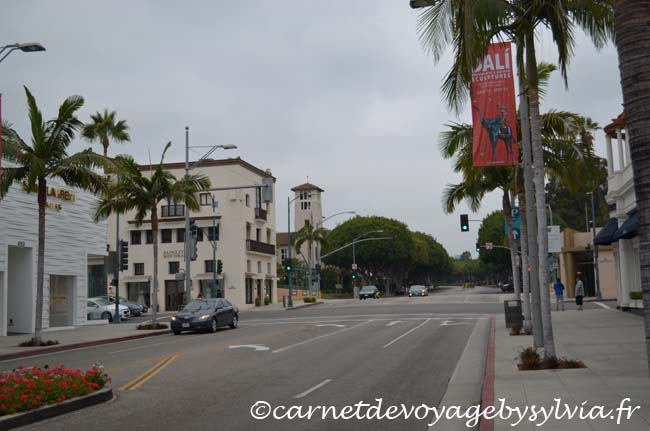 Los Angeles - quartier de Beverly Hills - Rodéo Drive
