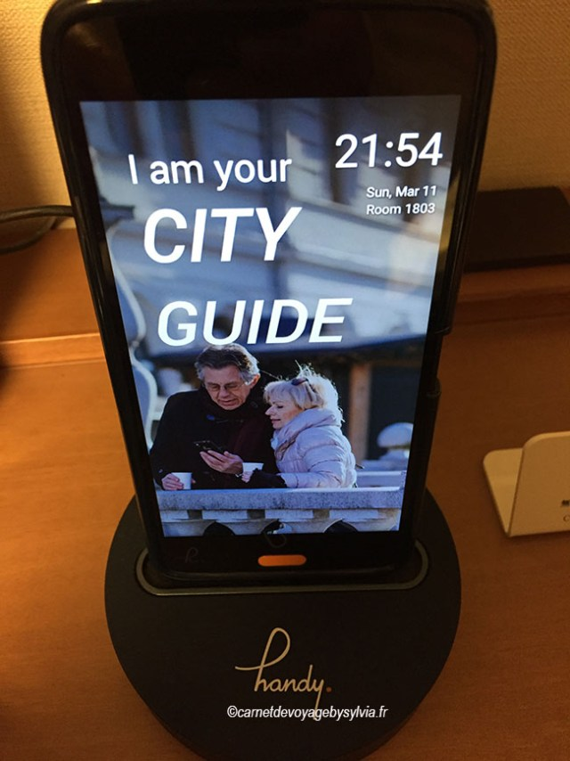 City guide smartphone