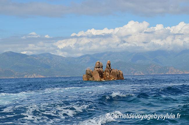 Calanches de Piana en bateau
