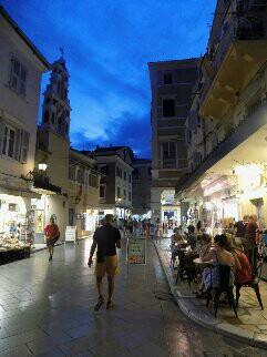 vieille ville de Corfou-Corfou-