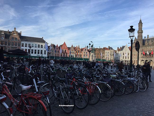 vélo à Bruges