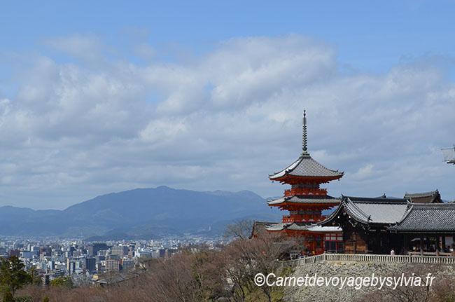 Kyiomizu-dera : temple japonais