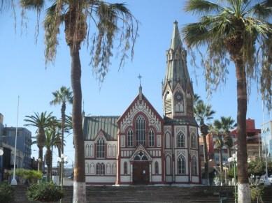 église néo-gothique de Arica