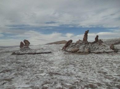 """Sculptures naturelles """"3 Marias"""" Vallée de la lune"""