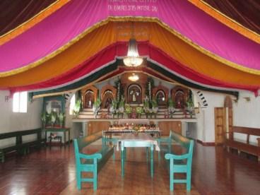 Intérieur de l'église de Zinacantán