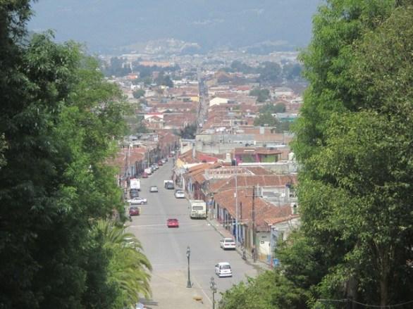 Vue du Cerro de Guadalupe San Cristobal de las casas