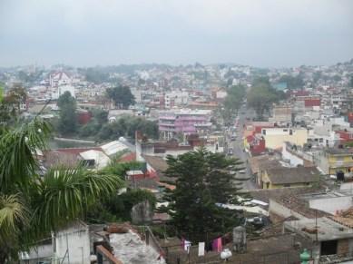 vue depuis le zocalo de Xalapa