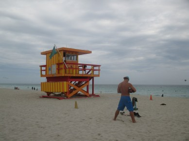 cabane des lifeguards Miami