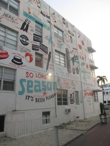 Graffitis légaux South beach