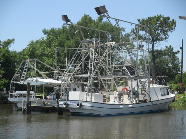 Bayou Segnette bateau de pêche