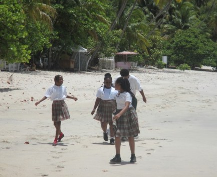 Cane garden écoliers