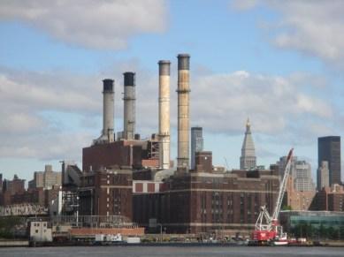 Vue de Manhattan depuis East River