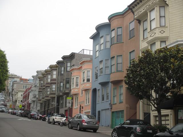 Rue typique de San Francisco
