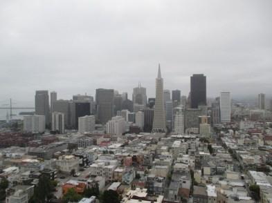 Vue depuis la Coit Tower San Francisco