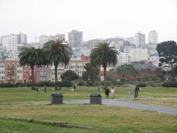 Parc du fort Mason San Francisco