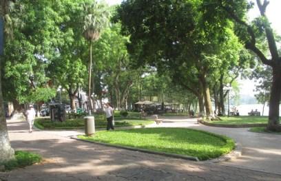 parc lac Hoan Kiêm