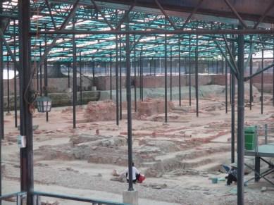 la citadelle impériale de Thang Long Fouilles archéologiques