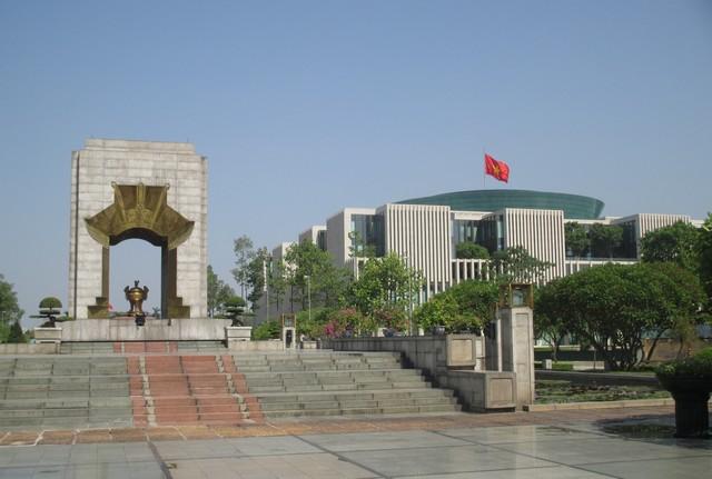 siège central du parti communiste Hanoi