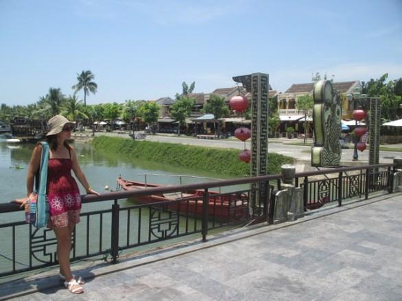 Le pont des lanternes Hoi An