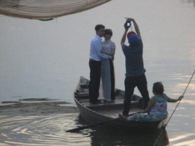 barque Hoi An photos amoureux