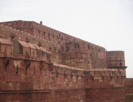 Murailles Fort Rouge Agra