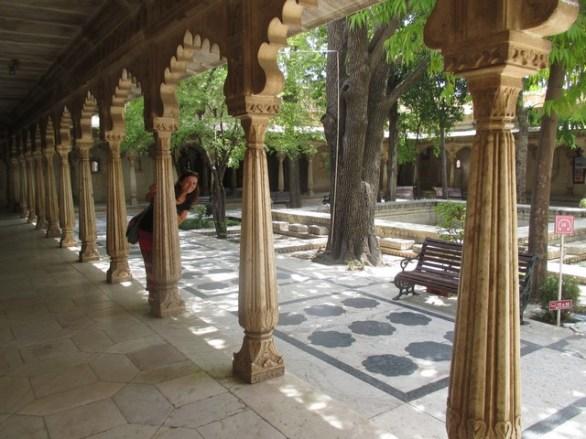 jardin sommet City Palace