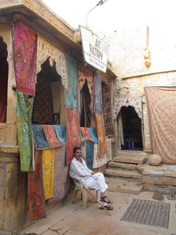 échoppe forteresse Jaisalmer